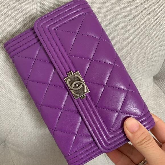 CHANEL Handbags - Chanel Le Boy wallet